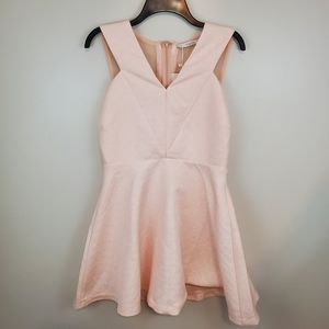 NWT FRNCH Lucy Paris Pink Sleeveless Dress Large.